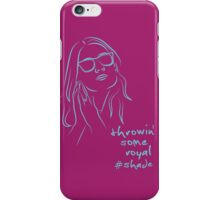 Royal Shade (purple) iPhone Case/Skin