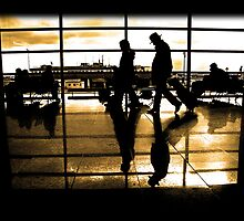 Frankfurt Airport by Ormaetxea