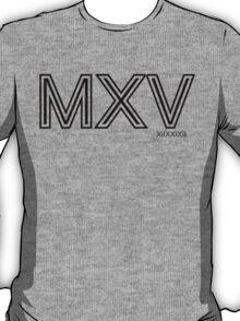 Momentum: Mass X Velocity [MXV] Outline T-Shirt