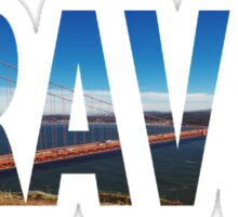 TRAVEL (San Francisco) Sticker