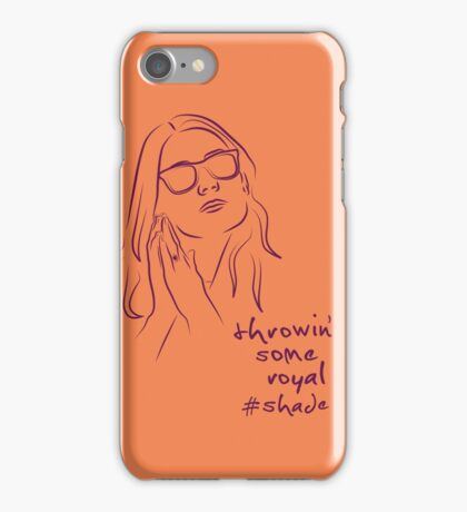 Royal Shade (orange) iPhone Case/Skin