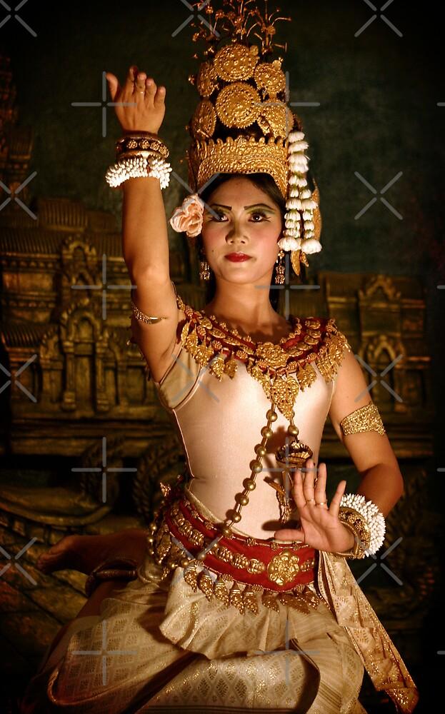Apsara Dancer, Cambodia by Keith Molloy