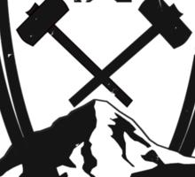 Redwall Themed Salamandastron Inspired Mountain Design Sticker