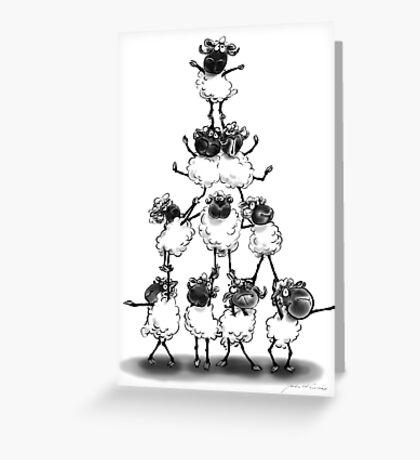 Teamwork Greeting Card