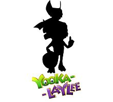 Yooka-Laylee Silhouette Photographic Print