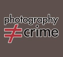 Photography is not equal to Crime 2 by Jakov Cordina