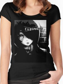 Anti - f u g i t i v e _ Women's Fitted Scoop T-Shirt