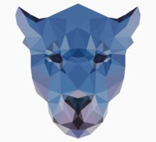 Blue Wild Cat T-Shirt