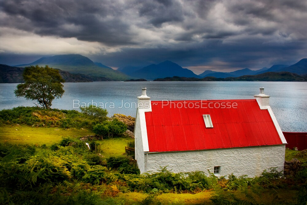 Loch Torridon, Summer Storm approaching. North West Scotland. by photosecosse /barbara jones