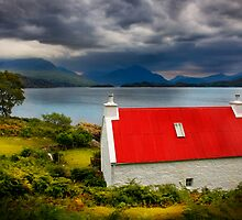 Loch Torridon, Summer Storm approaching. North West Scotland. by photosecosse /barbara jones