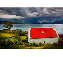 Loch Torridon, Summer Storm approaching. North West Scotland. Photographic Print