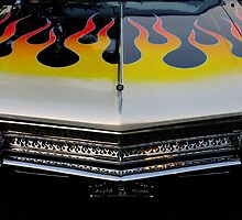 Buick On Fire by artisandelimage