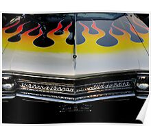 Buick On Fire Poster