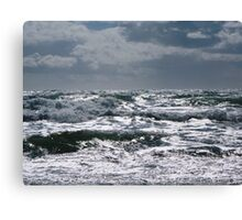 The Light of Freathy Canvas Print