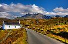 The Cuillin Mountains from Merkadale, Talisker, Isle of Skye, Scotland by photosecosse /barbara jones