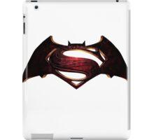 Batman v Superman iPad Case/Skin