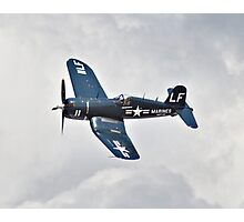 F4 Corsair Photographic Print