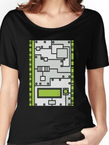 Metal Lab - Ghost Gear Green v2.1 - Danny Phantom Women's Relaxed Fit T-Shirt