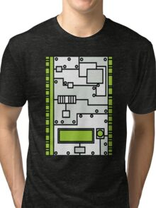 Metal Lab - Ghost Gear Green v2.1 - Danny Phantom Tri-blend T-Shirt