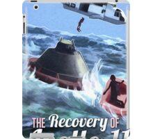 Apollo 11 Recovery  iPad Case/Skin