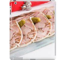 Pudding  pork  iPad Case/Skin