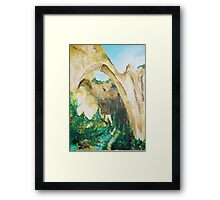 ARCHES painting Framed Print