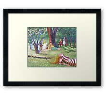The Seven Muses Framed Print
