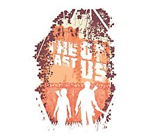 The last of us silhouette Photographic Print