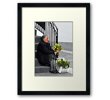 Who Will Buy..... Framed Print