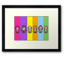 The Magypsies (Aeolia, Doria, Lydia, Phrygia, Mixolydia and Ionia) - Mother 3 Framed Print