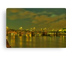 Bridge Over Troubled Water (HDR) Canvas Print