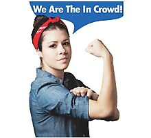 We Are the In Crowd Photographic Print
