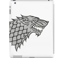 Winterfell Wolf iPad Case/Skin