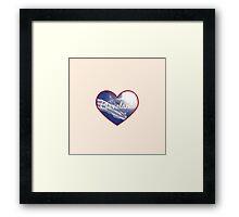 Cleveland Heart Framed Print