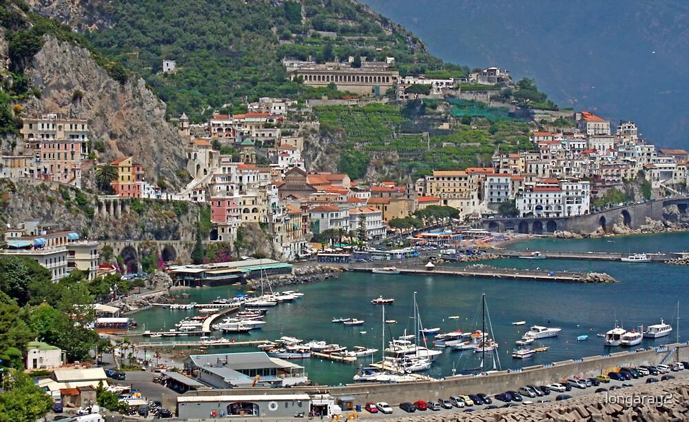Amalfi City View by longaray2