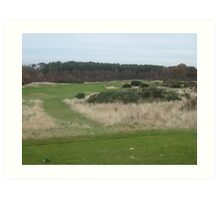 The Dukes Course in St. Andrews Art Print