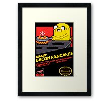 Super Makin' Bacon Pancakes Framed Print
