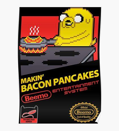 Super Makin' Bacon Pancakes Poster