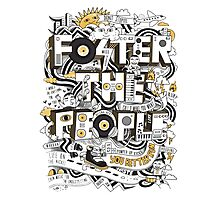 foster the people doodles Photographic Print