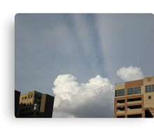 Clouds & Rays Canvas Print