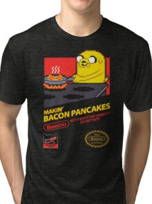 Super Makin' Bacon Pancakes Tri-blend T-Shirt