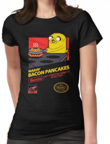 Super Makin' Bacon Pancakes Womens Fitted T-Shirt