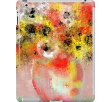 Flowers in Yellow, Red, and White iPad Case/Skin
