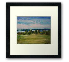 Groves Point, Nova Scotia Framed Print