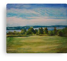 Groves Point, Nova Scotia Canvas Print