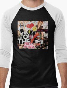Material Girl Men's Baseball ¾ T-Shirt