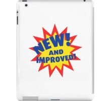 NEW! and Improved! iPad Case/Skin