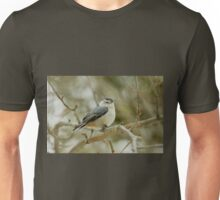 White-breasted Nuthatch - Sitta carolinensis  Unisex T-Shirt