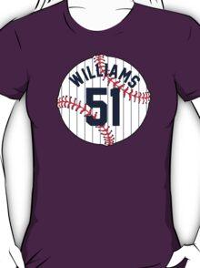 Bernie Williams Baseball Design T-Shirt