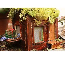 Home in a Fairy Garden Photographic Print
